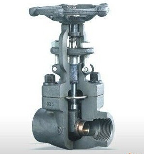 "2 "" SW Socket Welding Cast Steel Gate Valve / Welded Bonnet Gate Valve"