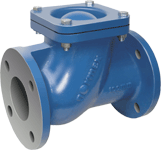 Thread End BSP NPT Ball Check Valve Ductile Iron With Epoxy Caoting Inner And Outer